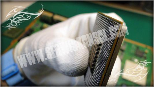 Procesor CELL - kontrola nowych kulek BGA